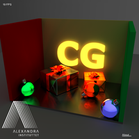 WebGL pathtracing - Xmas competition