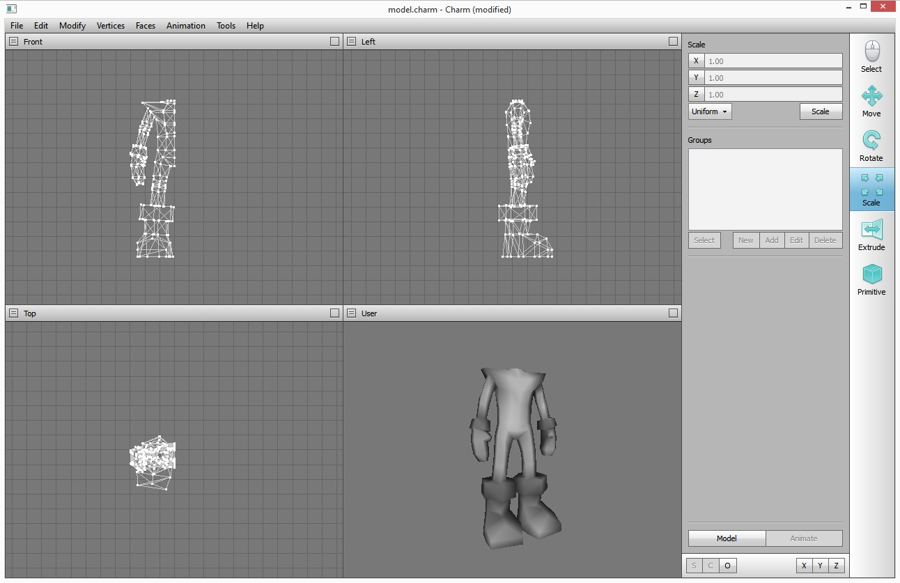 3D modelling again
