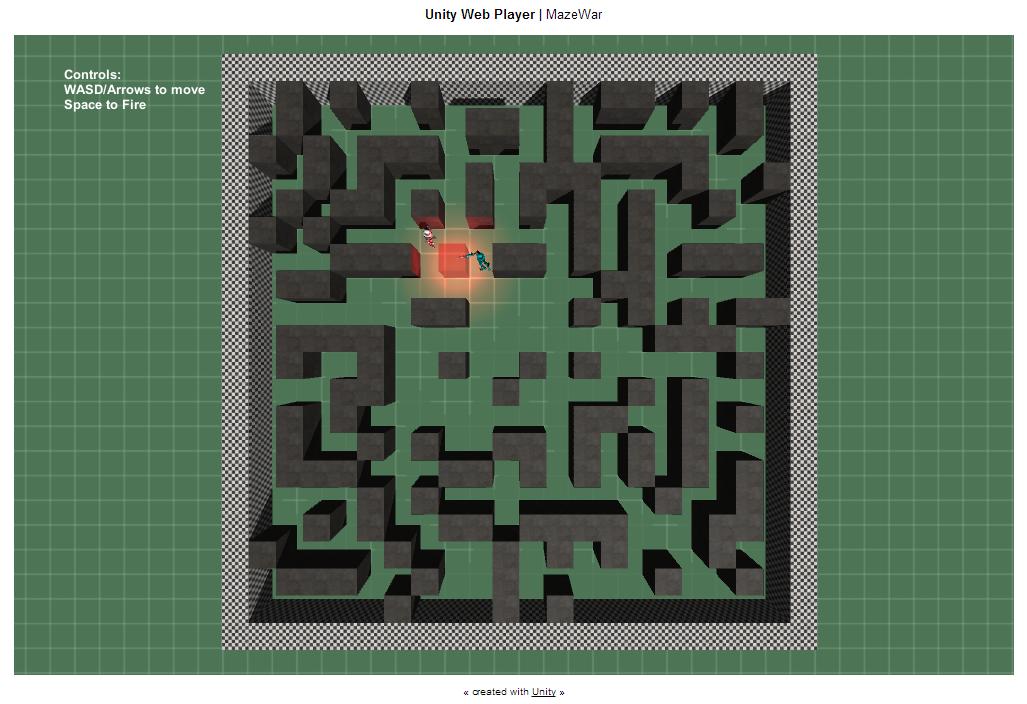 Another Unity Prototype:  MazeWar