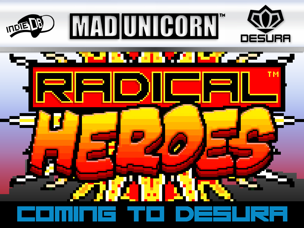 RADICAL HEROES: CRIMSON CITY CRISIS IS COMING TO DESURA!