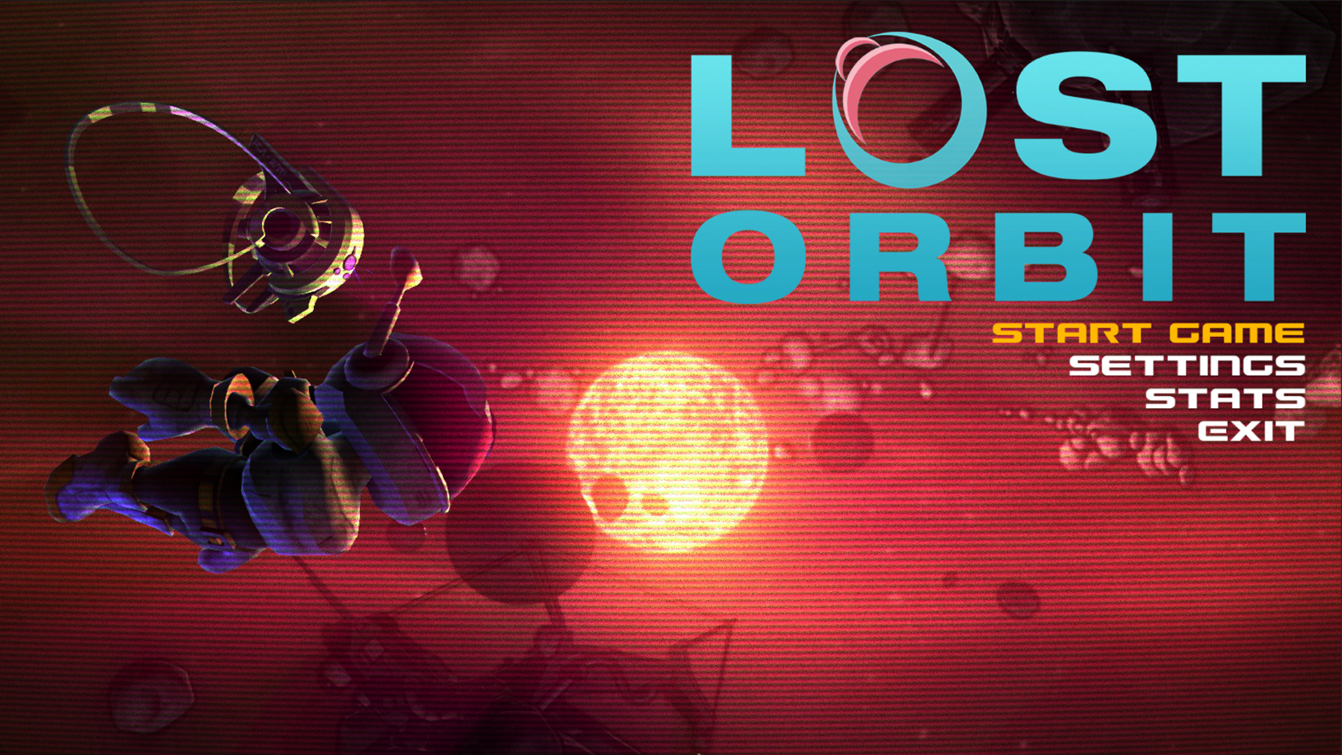 The Menus of LOST ORBIT