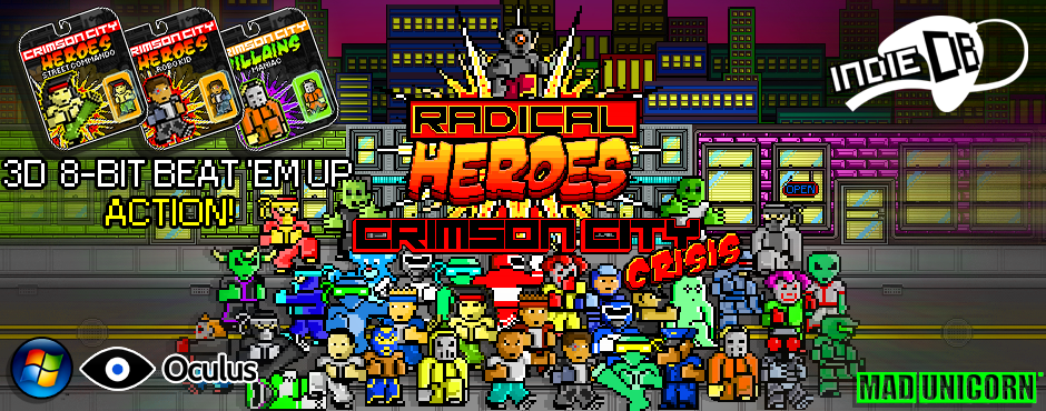 RADICAL HEROES: IS OCULUS ENABLED!