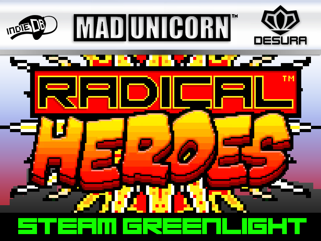 Radical Heroes : 10 minute game-play video + Greenlight!