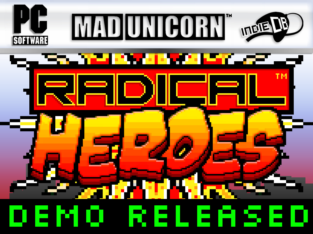 RADICAL HEROES: CRIMSON CITY CRISIS - DEMO V1.0 RELEASED!