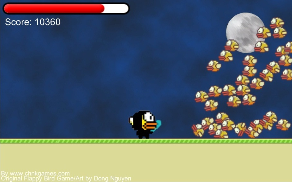 You can now play Flappy Assassin here!