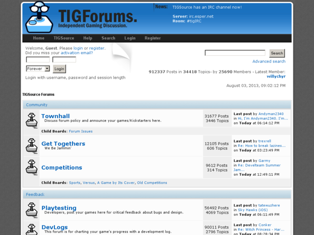 TIGSource Forums