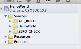 Attached Image: XCode_HelloWorld.png