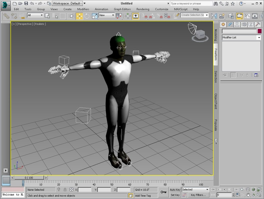 Attached Image: Figure 4 - Exported Character in 3ds Max.jpg