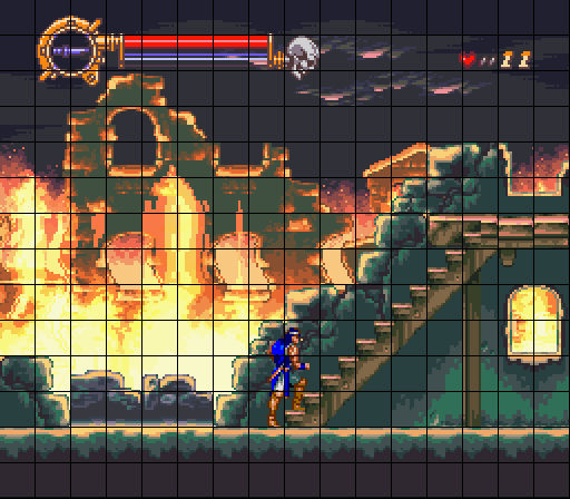Attached Image: Castlevania_Dracula_X_Stairs.png