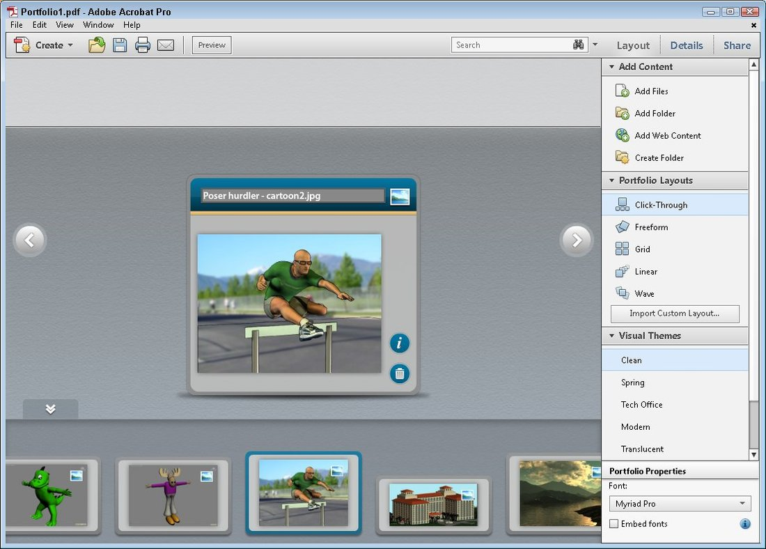 Attached Image: Figure 2 - Acrobat X Pro portfolio.jpg