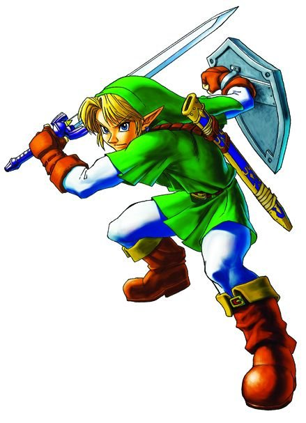 Attached Image: 05-17 Link (LegendofZeldaOcarinaofTime3D).jpg